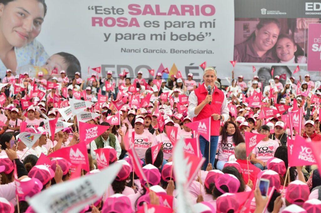 Suscribirse y obtener ayuda para madres solteras Tarjeta Rosa