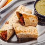 Burritos De frijoles Con Chorizo